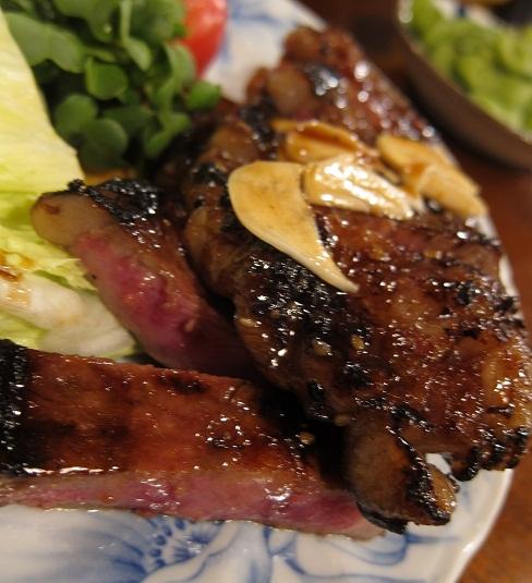 牛肉あみ焼