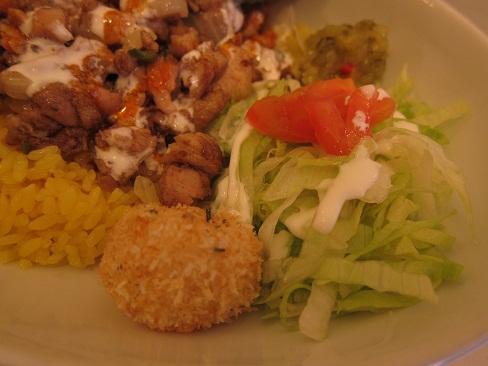 サラダ&マッシュポテト