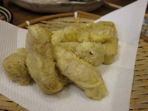 白肉天ぷら