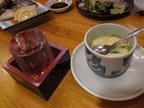日本酒&茶碗蒸し