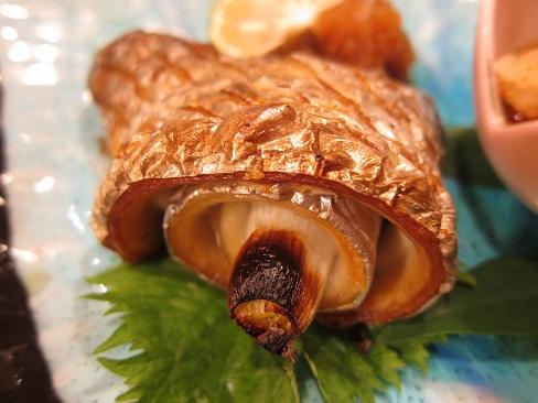 太刀魚の白葱巻焼き
